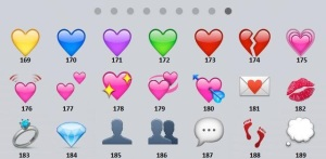 emoticons numerate 9