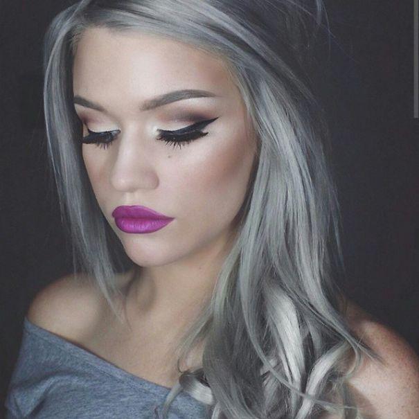"""Quest anno la colorazione più di tendenza per i capelli si chiama """"Granny  Hair"""" 47834c6a5c1e"""