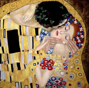 Il bacio- Gustave Klimt-
