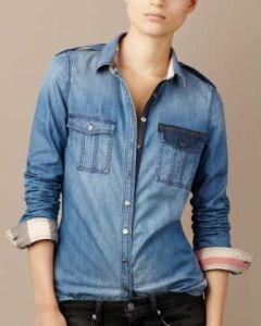 camicia burberry jeans