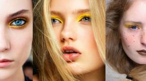makeup giallo